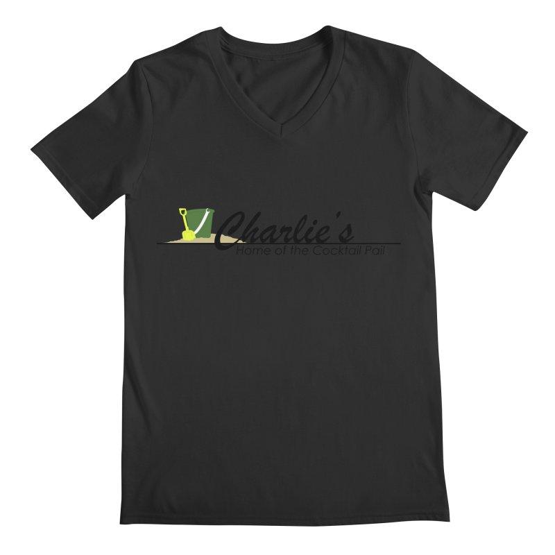 Charlie's Men's Regular V-Neck by disonia's Artist Shop