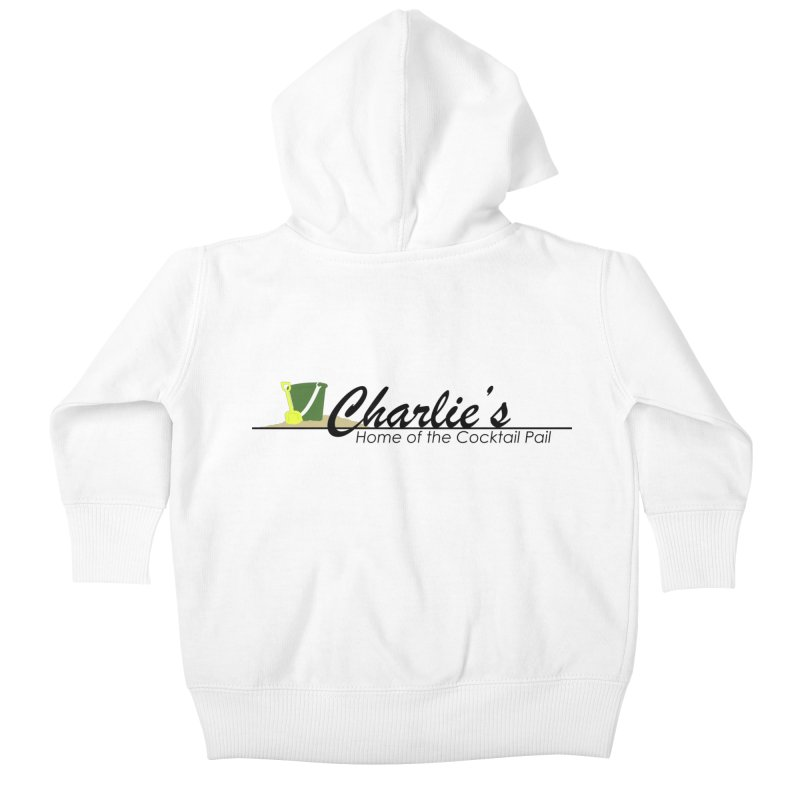 Charlie's Kids Baby Zip-Up Hoody by disonia's Artist Shop