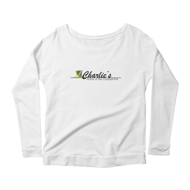 Charlie's Women's Scoop Neck Longsleeve T-Shirt by disonia's Artist Shop