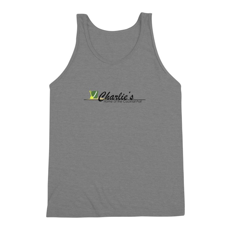 Charlie's Men's Triblend Tank by disonia's Artist Shop
