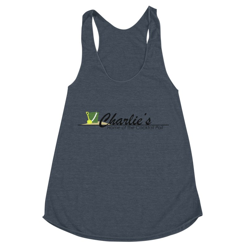 Charlie's Women's Racerback Triblend Tank by disonia's Artist Shop