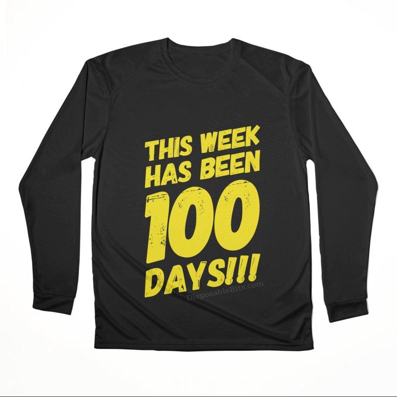 100 Days Women's Longsleeve T-Shirt by Disposable Bits's Shop
