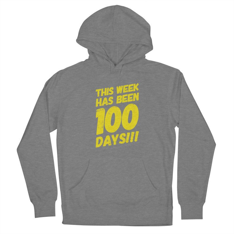 100 Days Women's Pullover Hoody by Disposable Bits's Shop