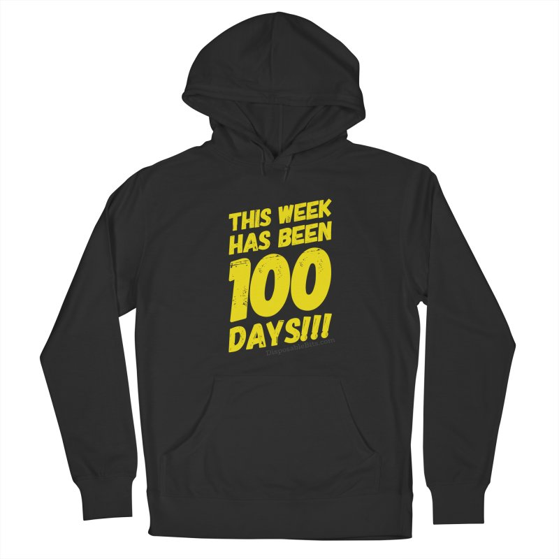 100 Days Men's Pullover Hoody by Disposable Bits's Shop