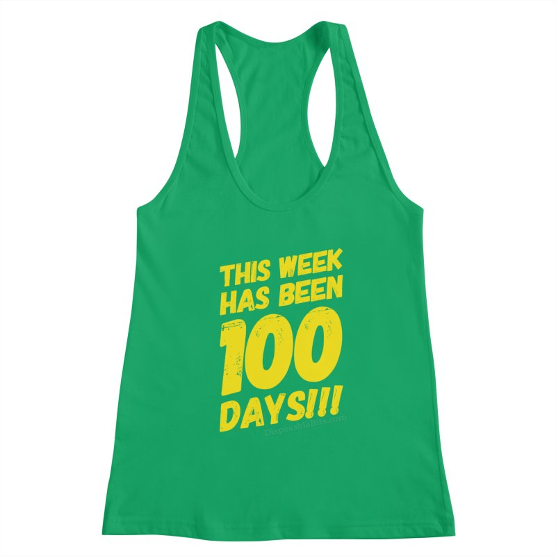 100 Days Women's Tank by Disposable Bits's Shop