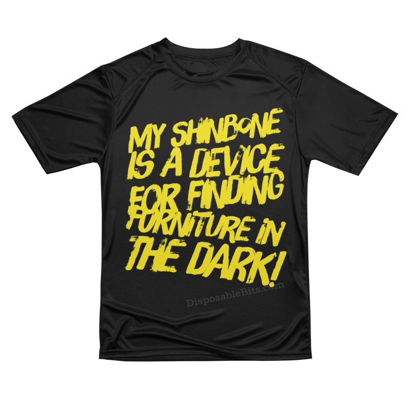 Shinbone Pain (Shout) Men's T-Shirt by Disposable Bits's Shop