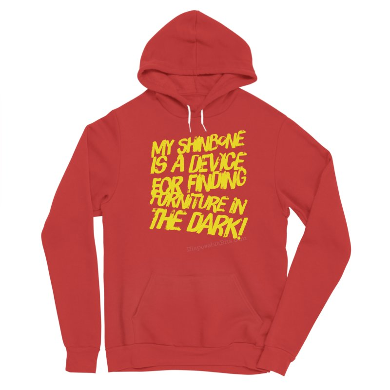 Shinbone Pain (Shout) Men's Pullover Hoody by Disposable Bits's Shop