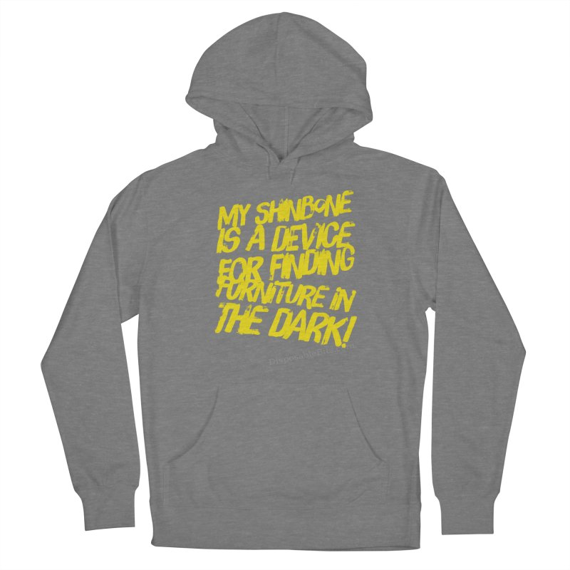 Shinbone Pain (Shout) Women's Pullover Hoody by Disposable Bits's Shop