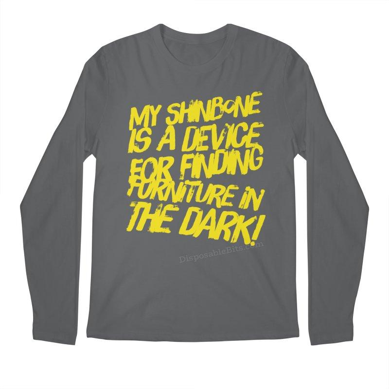 Shinbone Pain (Shout) Men's Longsleeve T-Shirt by Disposable Bits's Shop