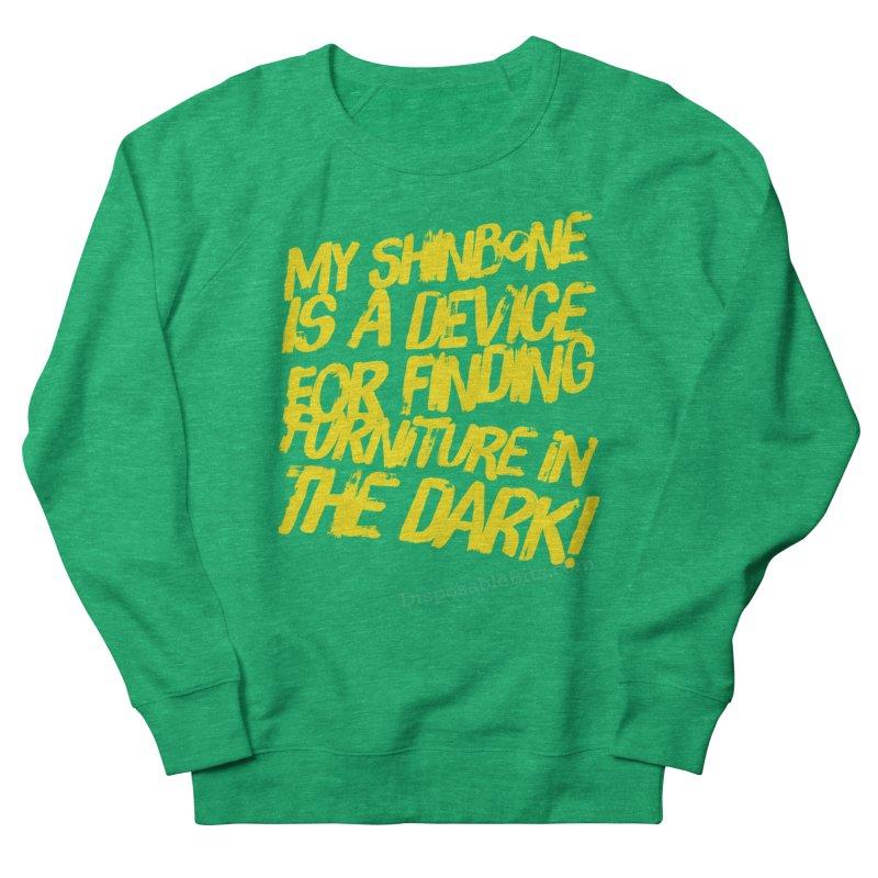 Shinbone Pain (Shout) Women's Sweatshirt by Disposable Bits's Shop
