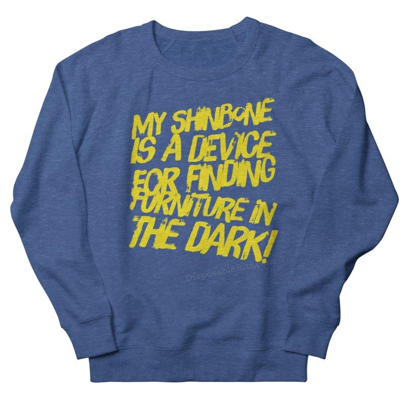 Shinbone Pain (Shout) Men's Sweatshirt by Disposable Bits's Shop
