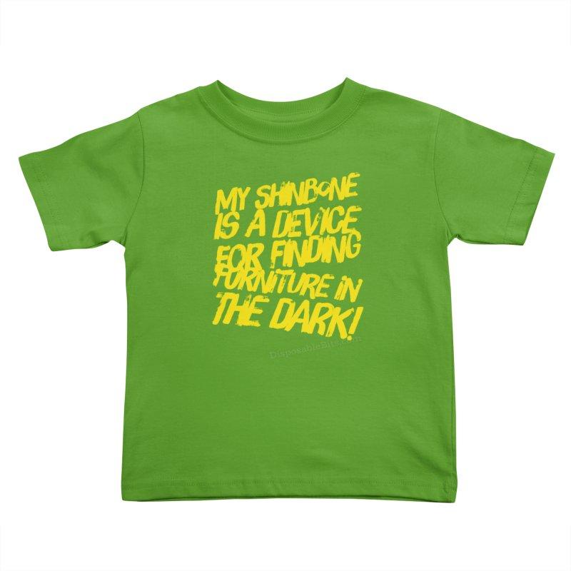Shinbone Pain (Shout) Kids Toddler T-Shirt by Disposable Bits's Shop