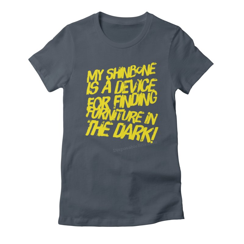 Shinbone Pain (Shout) Women's T-Shirt by Disposable Bits's Shop