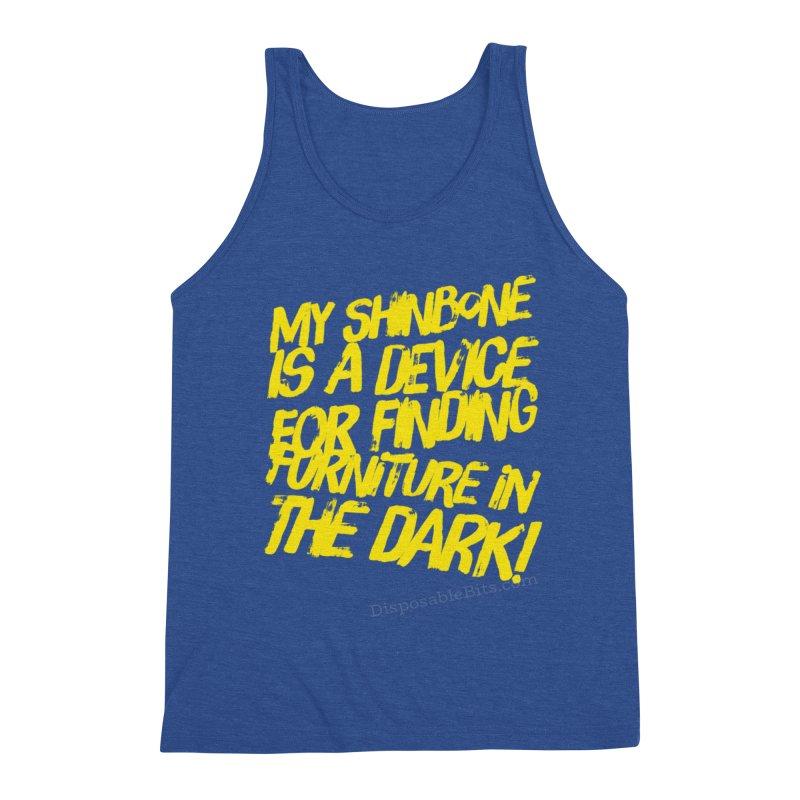Shinbone Pain (Shout) Men's Tank by Disposable Bits's Shop