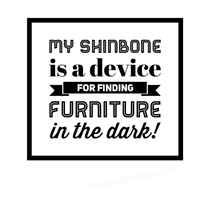 Shinbone Men's T-Shirt by Disposable Bits's Shop