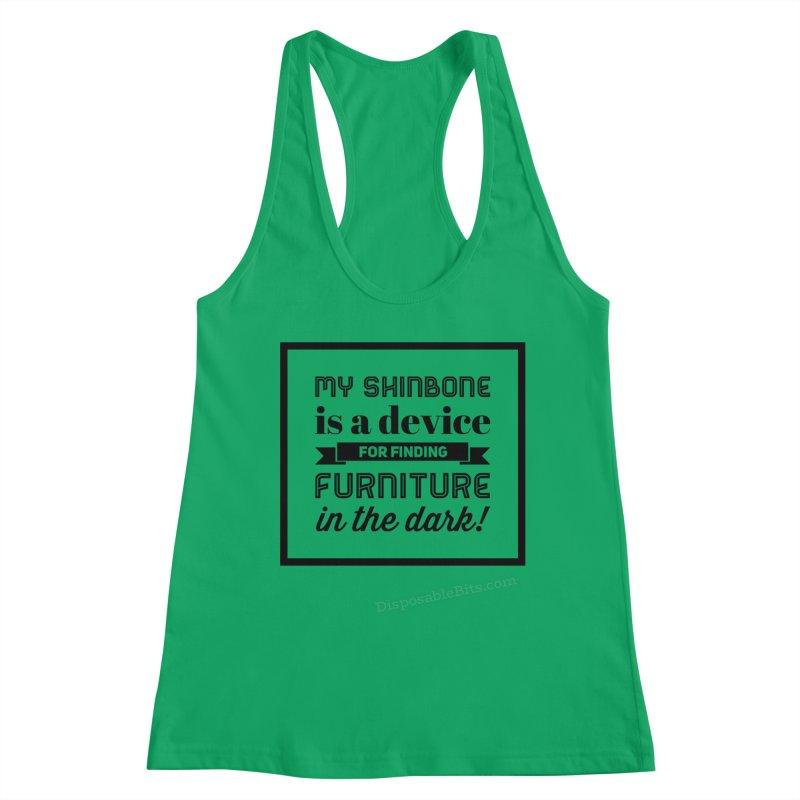 Shinbone Women's Tank by Disposable Bits's Shop