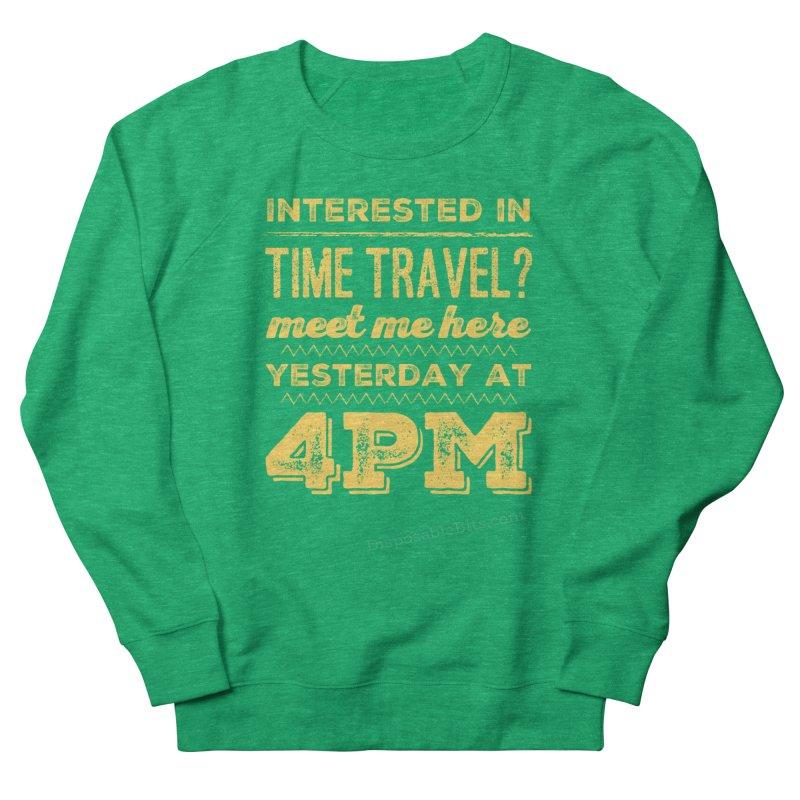Time Travel Women's Sweatshirt by Disposable Bits's Shop