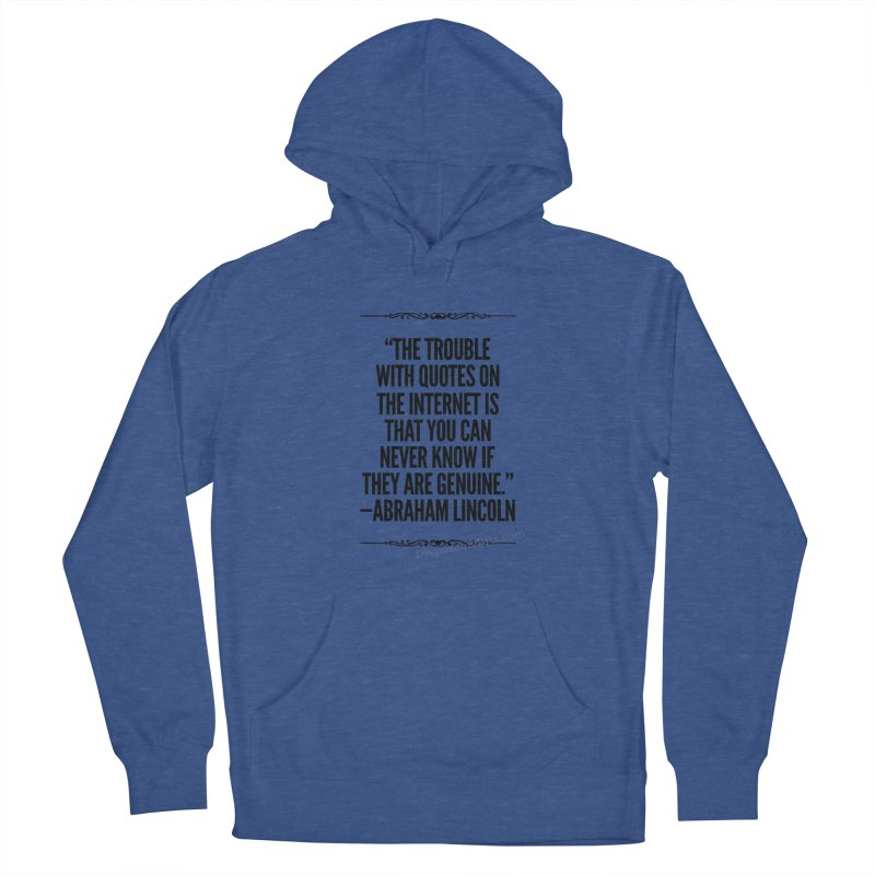 Lincoln's Internet Men's Pullover Hoody by Disposable Bits's Shop