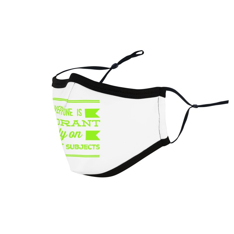 Ignorance Accessories Face Mask by Disposable Bits's Shop