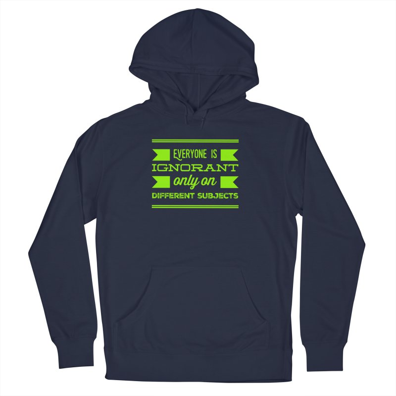 Ignorance Men's Pullover Hoody by Disposable Bits's Shop