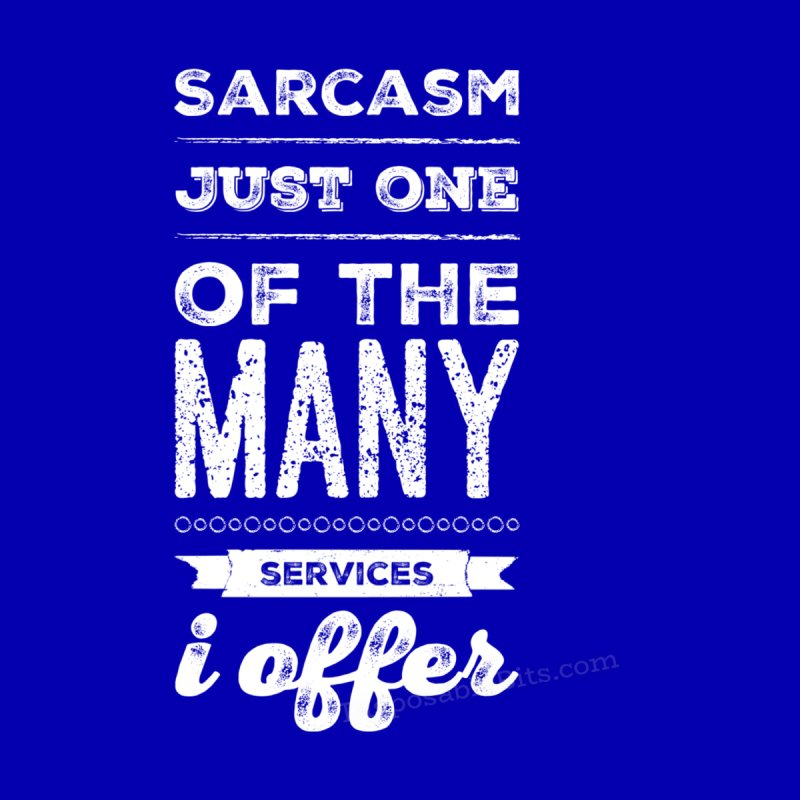 Sarcasm Men's Pullover Hoody by Disposable Bits's Shop