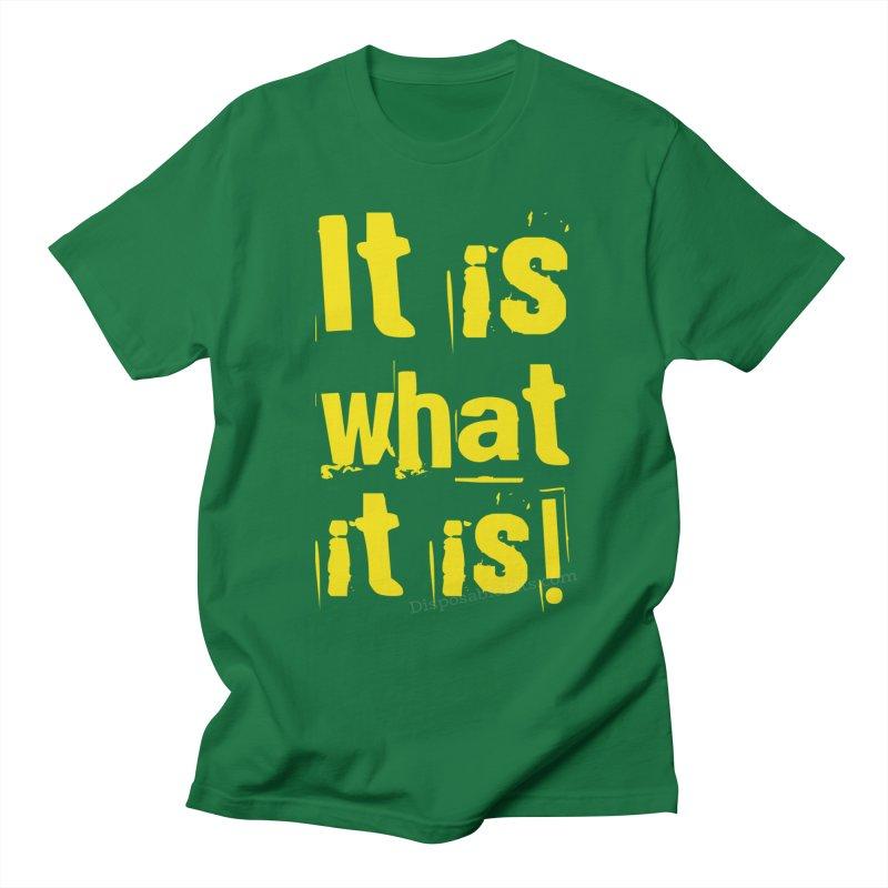 Redundant Tautology Men's T-Shirt by Disposable Bits's Shop