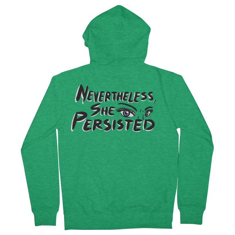 She Persisted Women's Zip-Up Hoody by Dissent in Style