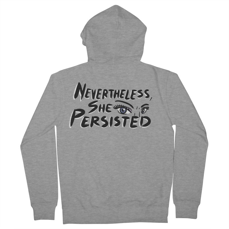 She Persisted Men's Zip-Up Hoody by Dissent in Style