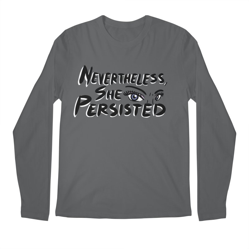 She Persisted Men's Longsleeve T-Shirt by Dissent in Style