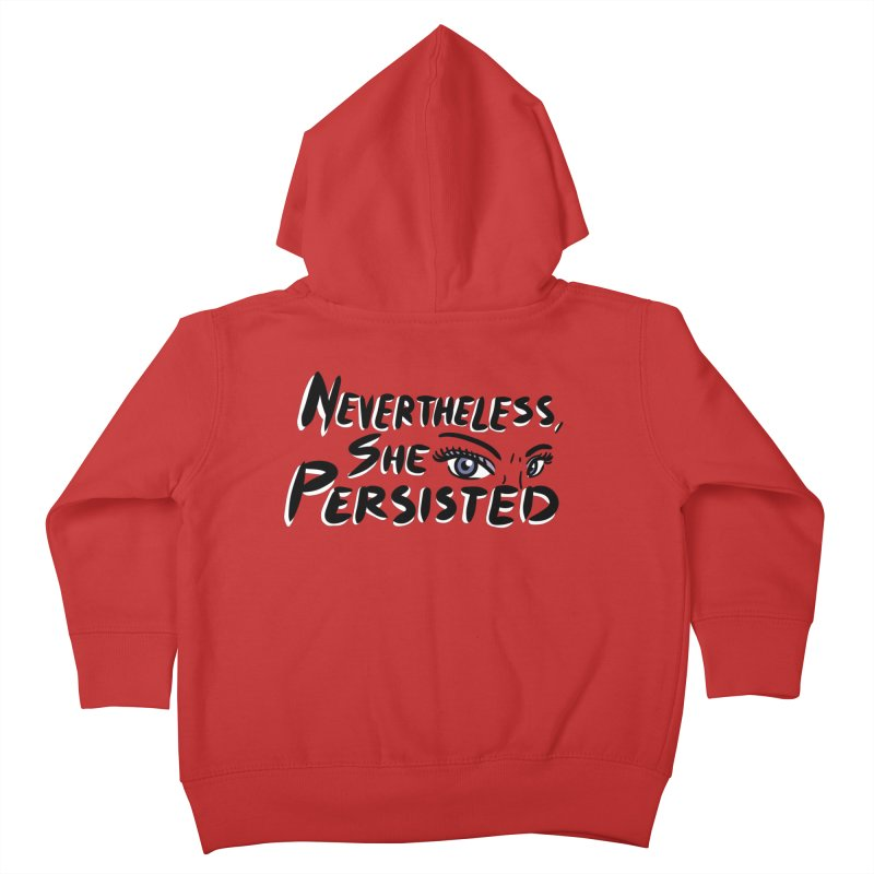 She Persisted Kids Toddler Zip-Up Hoody by Dissent in Style
