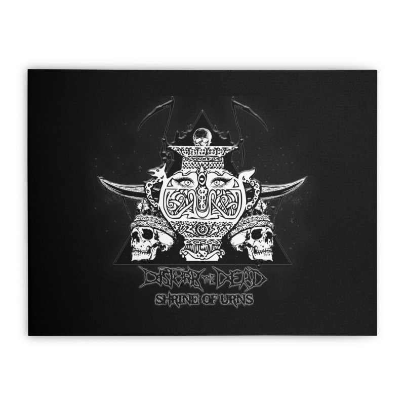 Shrine of Urns Home Stretched Canvas by disturbthedead's Artist Shop