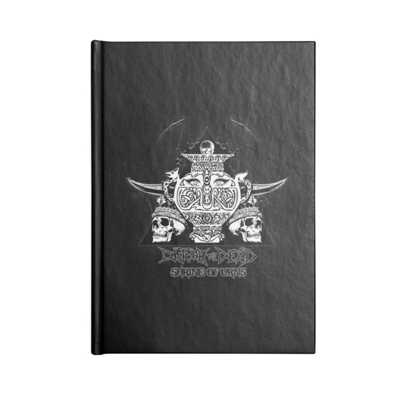 Shrine of Urns Accessories Notebook by disturbthedead's Artist Shop
