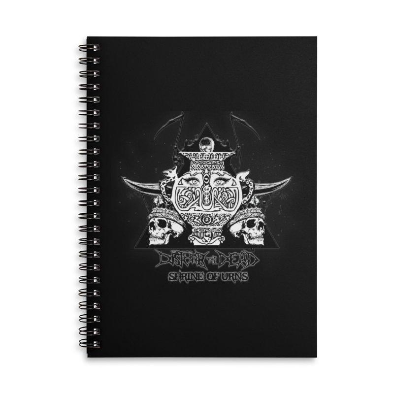 Shrine of Urns Accessories Notebook by disturbthedead's Artist Shop