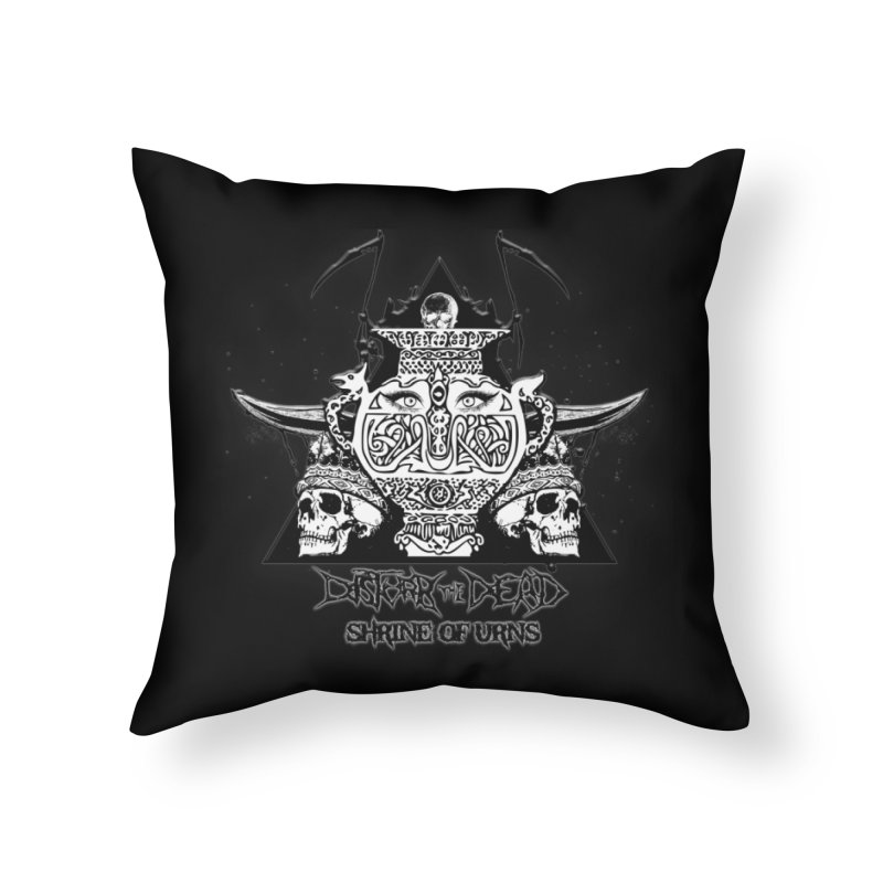 Shrine of Urns Home Throw Pillow by disturbthedead's Artist Shop