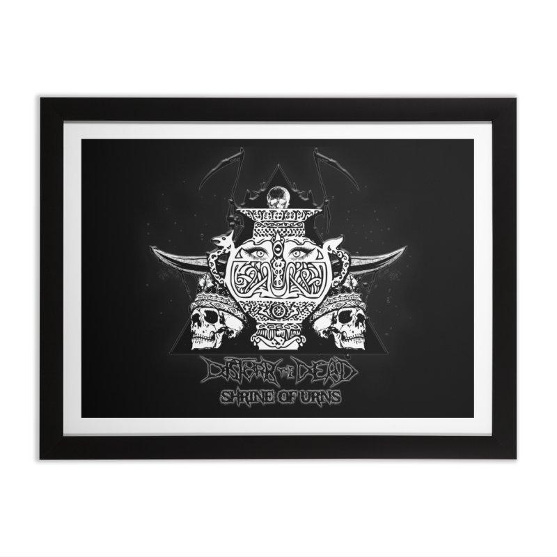 Shrine of Urns Home Framed Fine Art Print by disturbthedead's Artist Shop