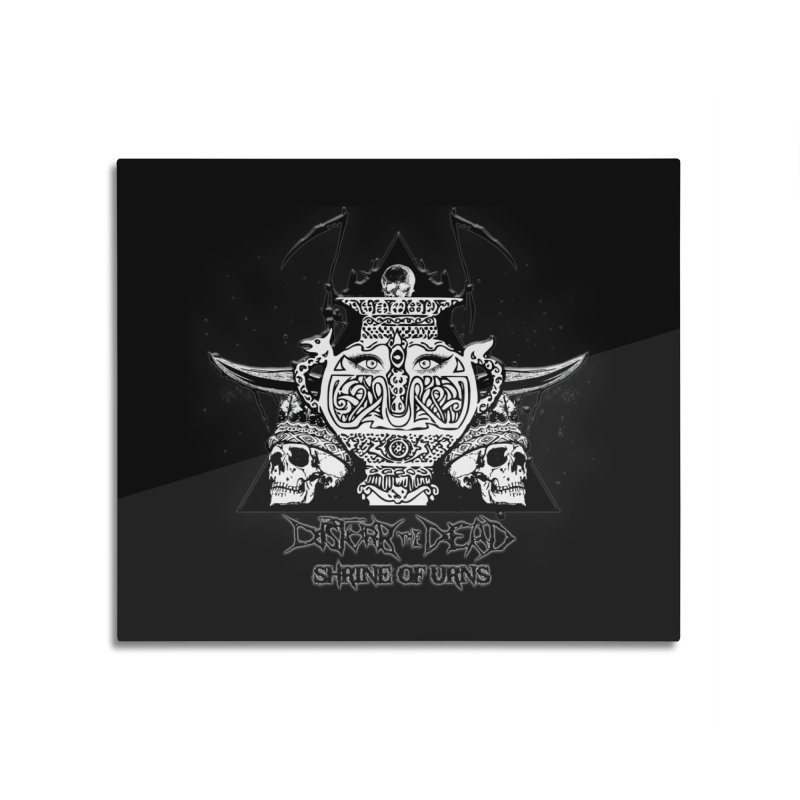 Shrine of Urns Home Mounted Aluminum Print by disturbthedead's Artist Shop