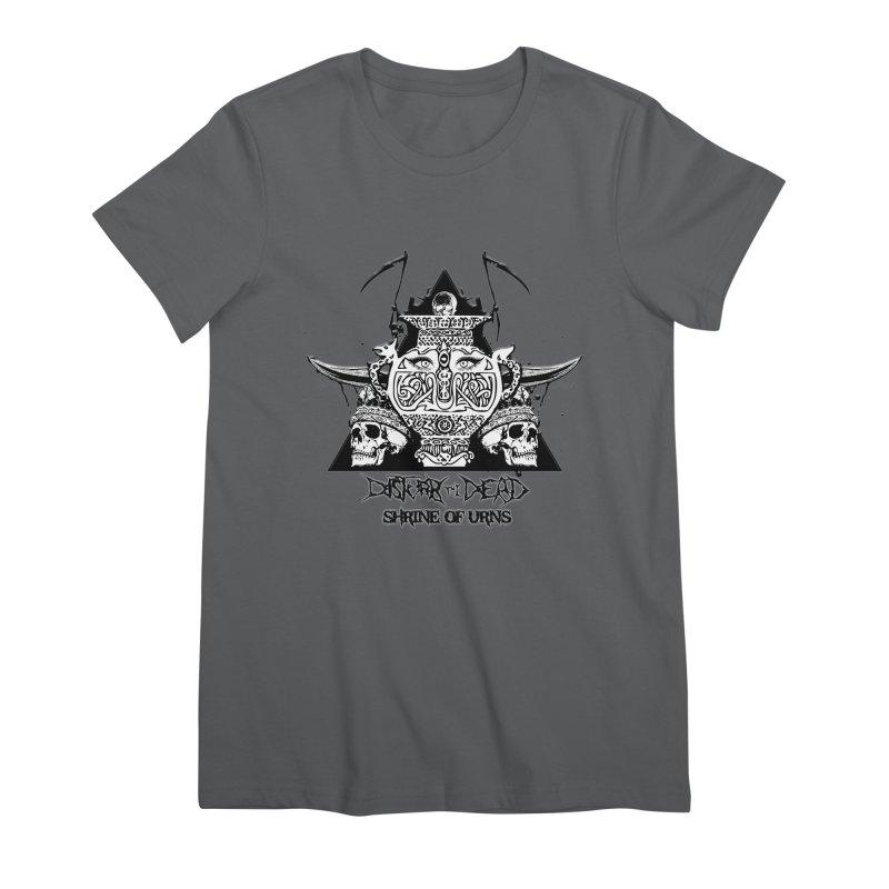 Shrine of Urns Women's T-Shirt by disturbthedead's Artist Shop