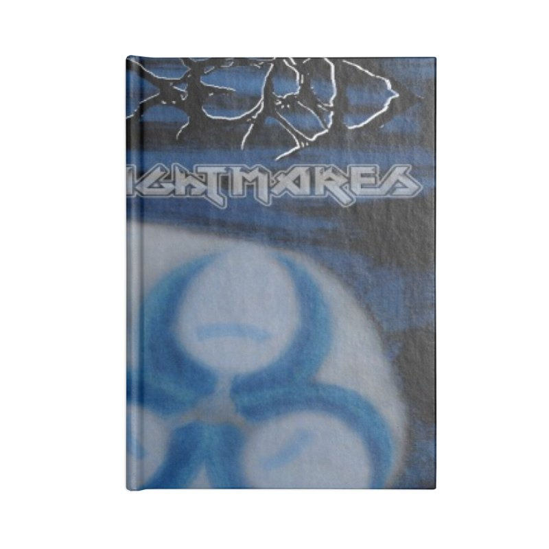 Nightmares Accessories Notebook by disturbthedead's Artist Shop