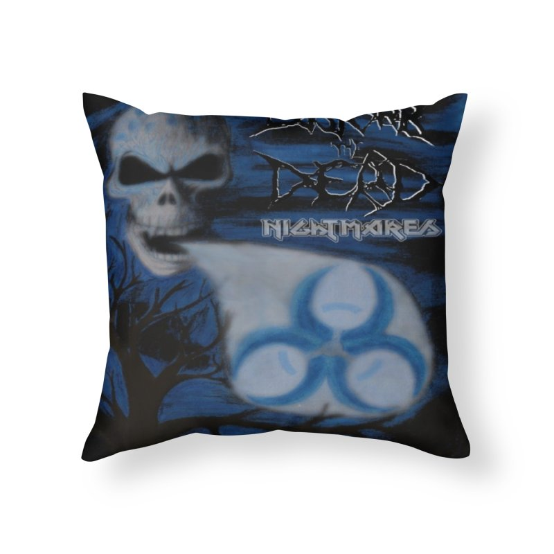 Nightmares Home Throw Pillow by disturbthedead's Artist Shop