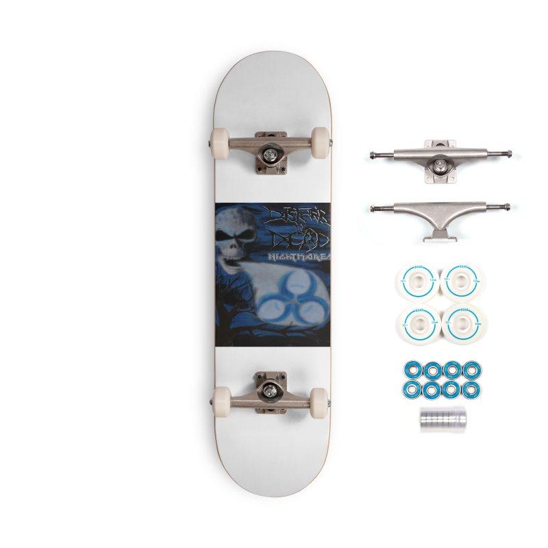 Nightmares Accessories Skateboard by disturbthedead's Artist Shop