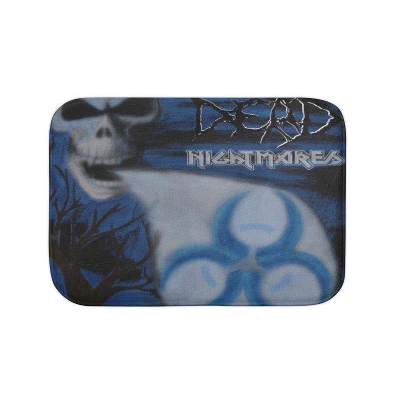 Nightmares Home Bath Mat by disturbthedead's Artist Shop