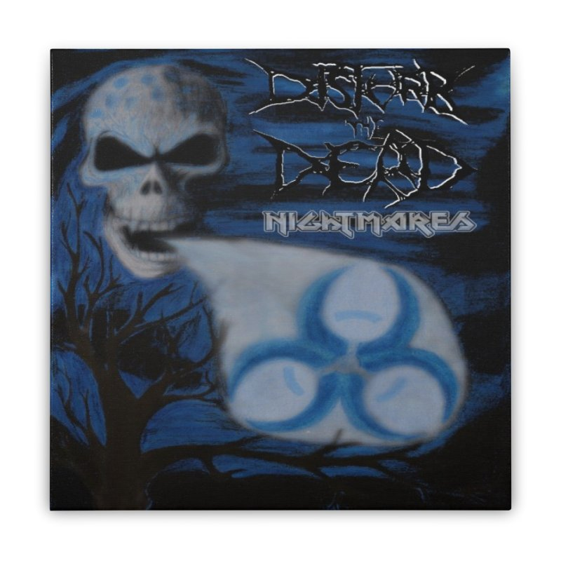 Nightmares Home Stretched Canvas by disturbthedead's Artist Shop