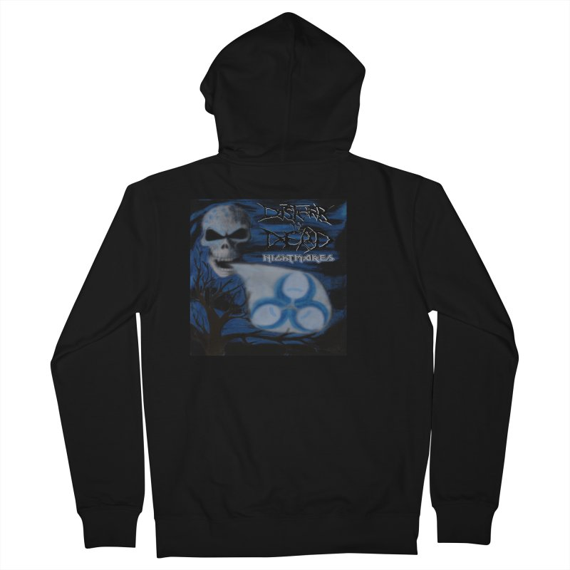 Nightmares Men's Zip-Up Hoody by disturbthedead's Artist Shop