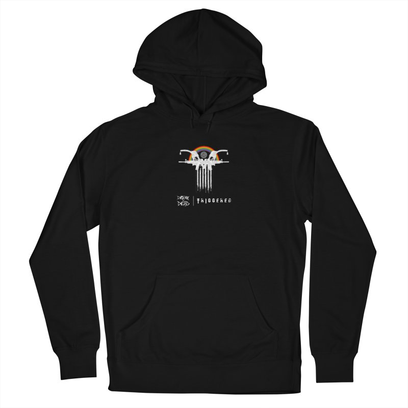 Triggered Men's Pullover Hoody by disturbthedead's Artist Shop