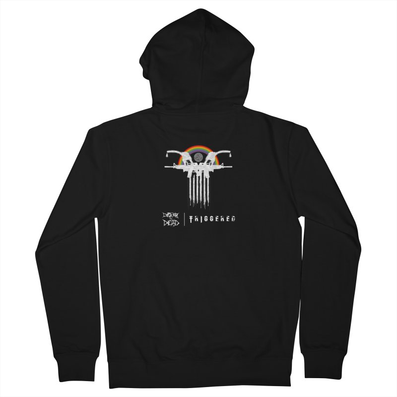 Triggered Men's Zip-Up Hoody by disturbthedead's Artist Shop