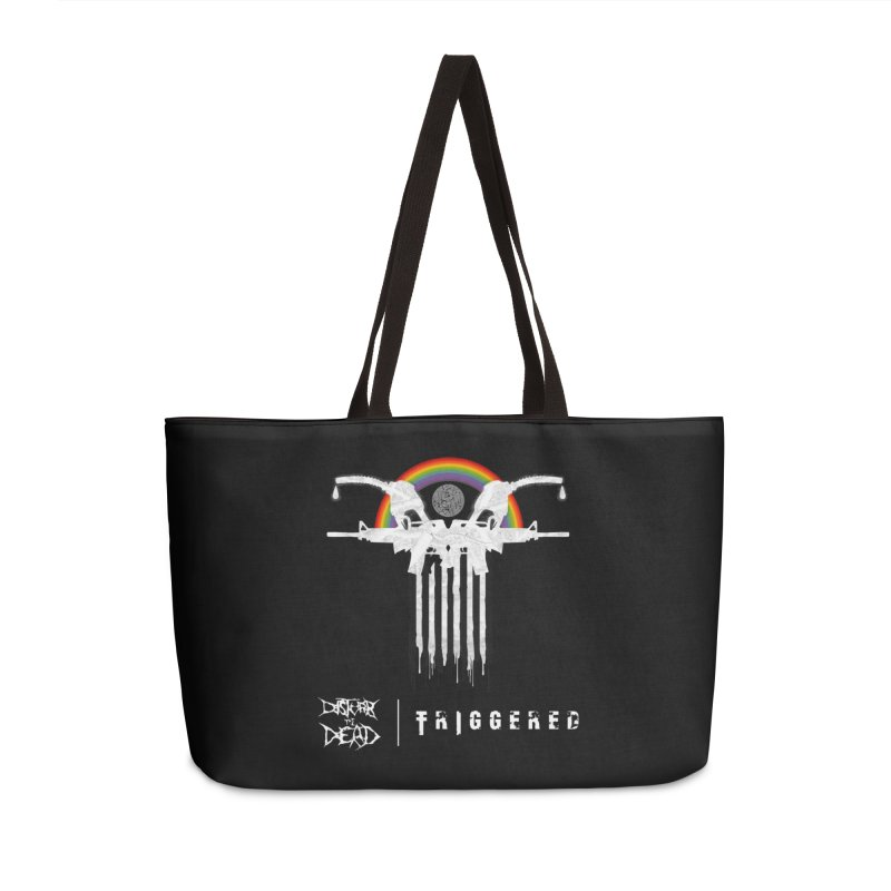 Triggered Accessories Bag by disturbthedead's Artist Shop