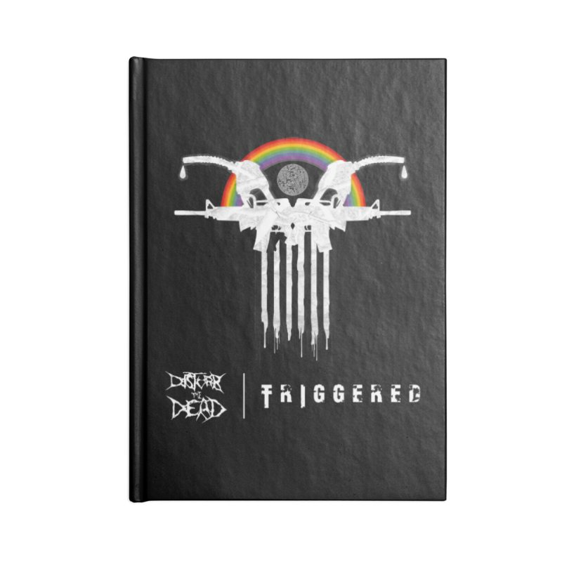Triggered Accessories Notebook by disturbthedead's Artist Shop