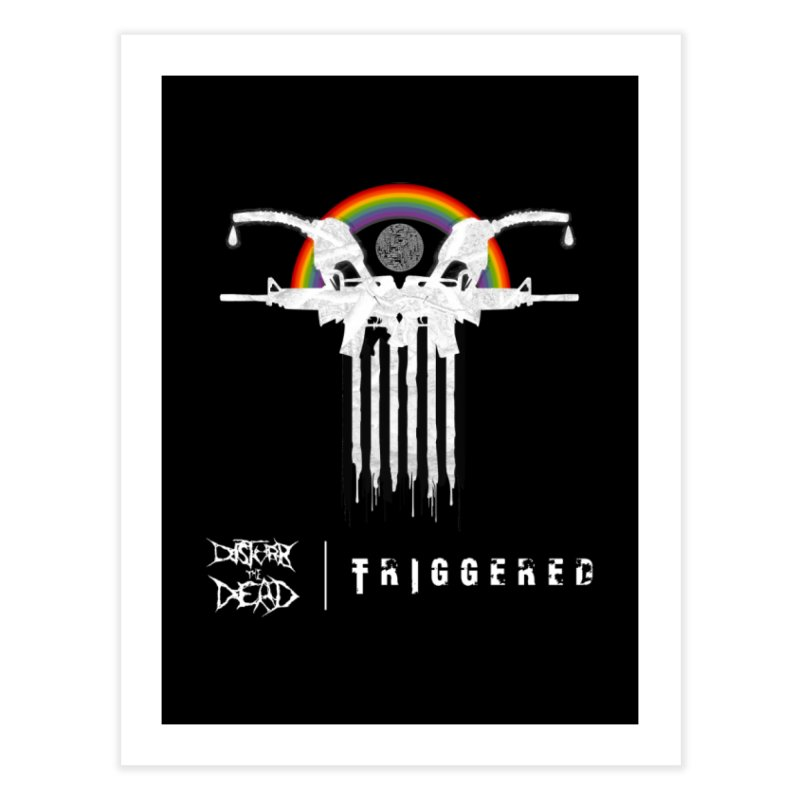 Triggered Home Fine Art Print by disturbthedead's Artist Shop