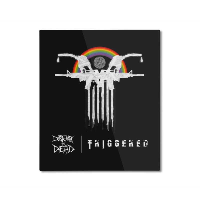 Triggered Home Mounted Aluminum Print by disturbthedead's Artist Shop