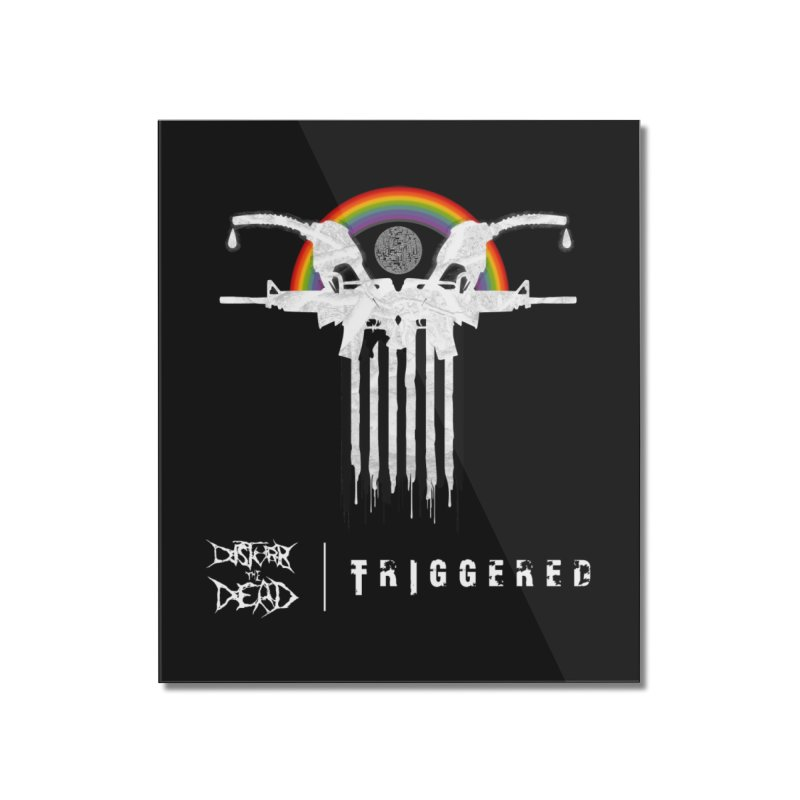 Triggered Home Mounted Acrylic Print by disturbthedead's Artist Shop